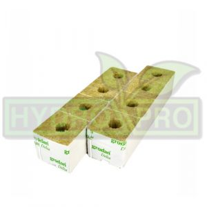 Small Hole Rockwool Cube