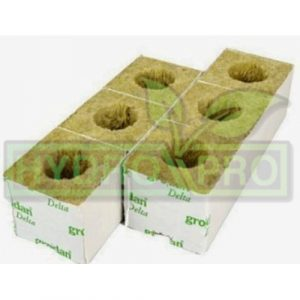 Large Hole Rockwool Cube