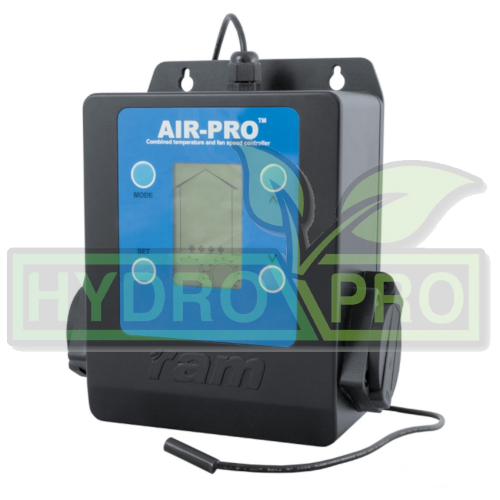Ram AIR PRO2 Digital Twin Fan Controller - with logo