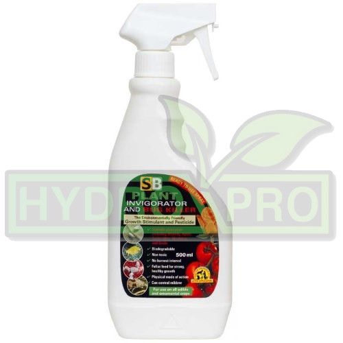 SB Plant Invigorator Spray 500ml - with logo