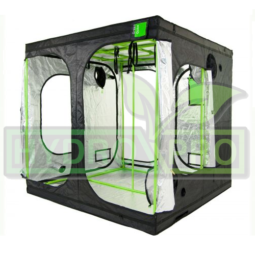 Green Qube 2.4 x 2.4 x 2.2m - with logo