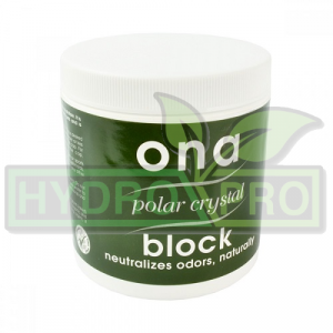 Ona Block Polar Crystal 170g with logo