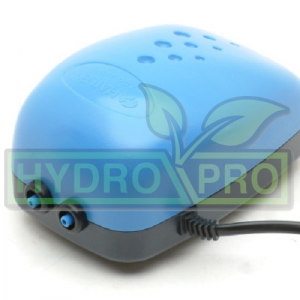 Super Silent Air Pump Single Outlet with logo