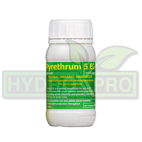 Pyrethium 5Ec Organic Insecticide 250ml With Logo