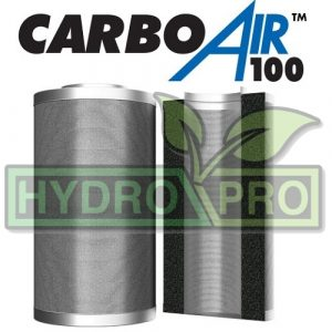 10 Carbon Air Filter 250 x 660 100mm